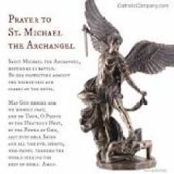 Image result for saint michael's prayer